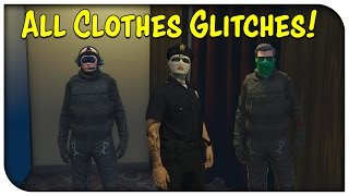 getlinkyoutube.com-GTA 5 Online - ALL CLOTHES GLITCHES AFTER PATCH 1.28! (Hat/Glasses w/ Mask, Pilot Headset & More)