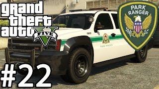getlinkyoutube.com-GTA V Police Mod 1.0c Day 22 - Park Ranger Patrol