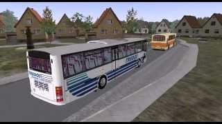 Omsi 1 tour (026) Karosa C956 Axer Bus @ Lakeland Map okružní jízda bez zastávek