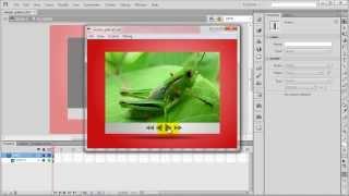 Belajar Animasi Flash Bag.8 - Actionscript Dasar nextFrame + prevFrame (Simple Photo Slideshow)