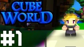 getlinkyoutube.com-【Cube World 】 - Alpha - สร้างตัวละครแล้วลุยกัน! (1)