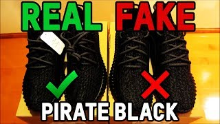 getlinkyoutube.com-Adidas Yeezy Boost 350 Pirate Black Authentic Vs. Fake from eBay