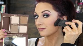 getlinkyoutube.com-Too Faced Cocoa Contour Review & Demo