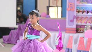 Louise Antonette 7th Birthday Party- Barbie The Princess and The Popstar themed party