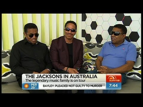 Sunrise - Jacksons touring down under