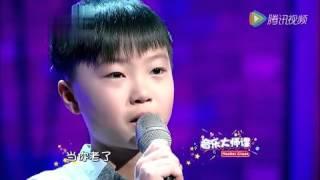 getlinkyoutube.com-11歲少年唱哭上億人 《當你老了》感動萬千父母