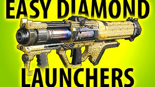 BLACK OPS 3 EASY DIAMOND CAMO LAUNCHERS @ItsMikeyGaming