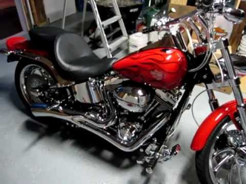 2007 Harley Davidson Softail Custom with Woods TW-777 Cams
