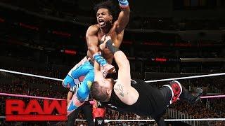 getlinkyoutube.com-The New Day vs. Kevin Owens & Chris Jericho: Raw, Oct. 3, 2016