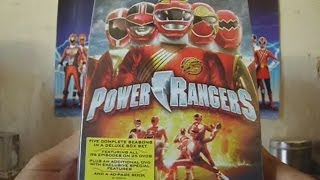 getlinkyoutube.com-Unboxing Power Rangers Seasons 8 - 12 Deluxe Box Set!