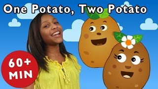 getlinkyoutube.com-One Potato, Two Potato and More | Nursery Rhymes from Mother Goose Club!
