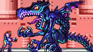 Metroid Fusion - All Bosses (No Damage)