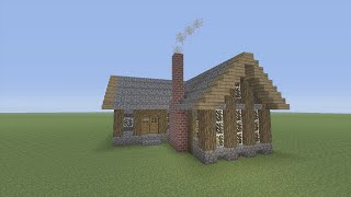 getlinkyoutube.com-How to Build a Survival House in Minecraft