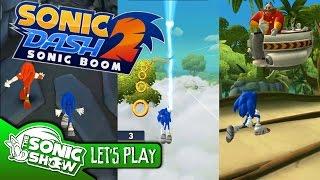 getlinkyoutube.com-Sonic Dash 2: Sonic Boom - Gameplay
