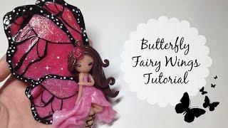 getlinkyoutube.com-TUTORIAL: Polymer Clay Butterfly Fairy Wings- NO PAINT!