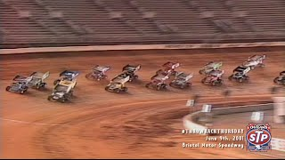 getlinkyoutube.com-#ThrowbackThursday: World of Outlaws Sprint Cars Bristol Motor Speedway June 9th, 2001