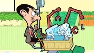 getlinkyoutube.com-Mr Bean the Animated Series - Super Trolley