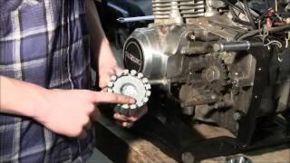 getlinkyoutube.com-Old Go Cart Gets an Upgrade -- Motorcycle Engine