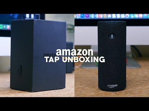 Amazon Tap: Alexa-Enabled Portable Bluetooth Speaker Unboxing