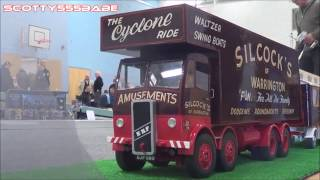 getlinkyoutube.com-RC TRUCKS @ LEYLAND (APRIL 2016) 1/14 Tamiya trucking Wedico scaleART Rc LKW