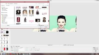 getlinkyoutube.com-Como fazer capa da larissa manoela simples no photoscape
