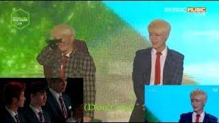 getlinkyoutube.com-SHINee & EXO Boys Cry (KEY focus, Luhan, D.O, Kris Reaction) [Eng sub] HD