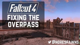 getlinkyoutube.com-Fallout 4 - Repairing Finch Farm Overpass