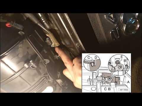 Расположение предохранителя вентилятора печки в Audi SQ7