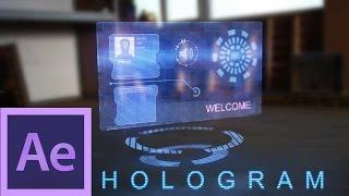 getlinkyoutube.com-After Effects Tutorial: Hologram