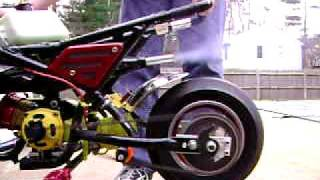 getlinkyoutube.com-49cc CAG pocket bike with full upgrades running
