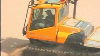 getlinkyoutube.com-PRINOTH TROOPER Track Vehicle Sand and Snow