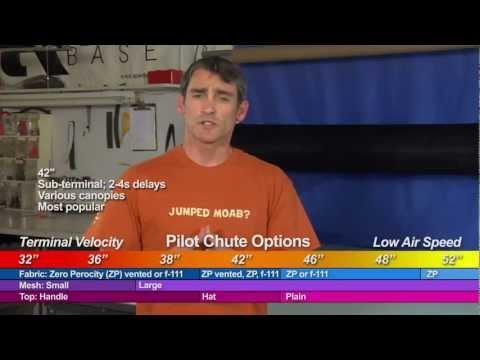 Apex BASE Pilot Chutes - Updated