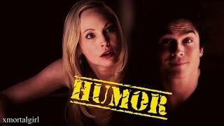 getlinkyoutube.com-Damon and Caroline | HUMOR [+5x20]