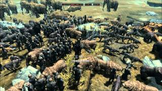 getlinkyoutube.com-15 Dragons vs 100 Giants, 50 Mammoths, 100 Archers, 200 Wolves / Bears?, 30 Spirit Trolls On Skyrim