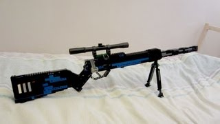 getlinkyoutube.com-Lego Sniper rifle v5