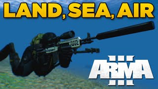 getlinkyoutube.com-ZEUS - LAND, SEA, AIR | ARMA 3 [ARES, Blastcore Phoenix, JSRS Dragonfyre]