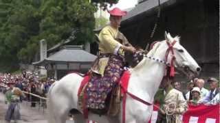 Samurai Archery - Yabusame in Nikko (Japanese Horseback Archery)
