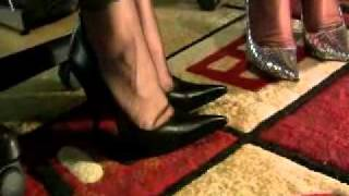 getlinkyoutube.com-Ladies Talk in FFnylons and Swap a Shoe