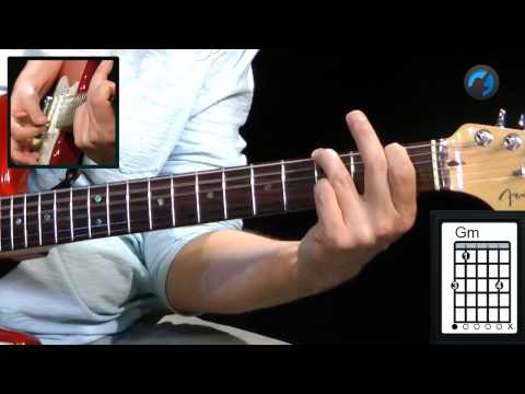 CAGED - Cm (aula t�cnica de guitarra)