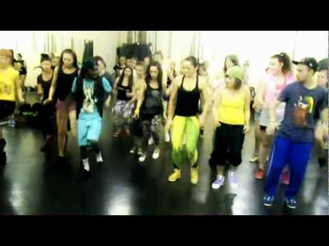 John Bling @ True Jamaican Camp in St. Petersburg RUSSIA (just dance)