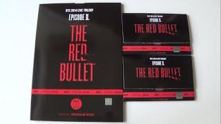 getlinkyoutube.com-Unboxing BTS (Bangtan Boys) 방탄소년단 THE RED BULLET Official Concert Goods: Program Book+Photocard Set