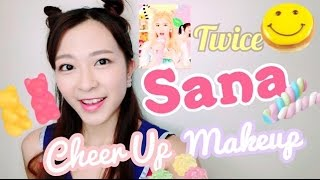 getlinkyoutube.com-Twice《Cheer Up》💕SANA仿妝(連髮型教學)|IVY MO