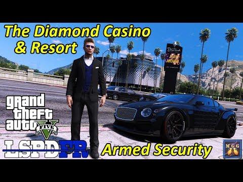 The Diamond Casino & Resort Armed Security Patrol   GTA 5 LSPDFR Episode 409