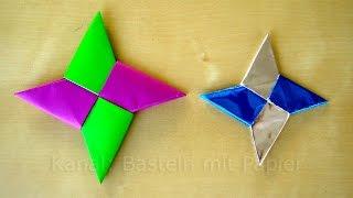 getlinkyoutube.com-Sterne basteln mit Papier zu Weihnachten - Origami Stern - Weihnachtsbasteln