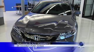 Los mejores vehículos los encuentra en Honda Coconut Point