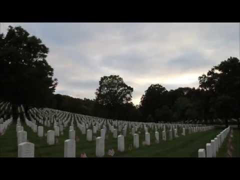 """Flags In"" at Arlington National Cemetery 2013"