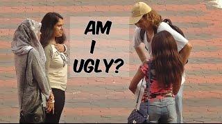 "getlinkyoutube.com-Ugly guy asking girls ""Am i handsome?"" --  social experiment"