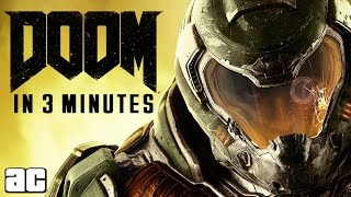 Doom ENTIRE Storyline of All Games in 3 Minutes (Doom Animated Story)