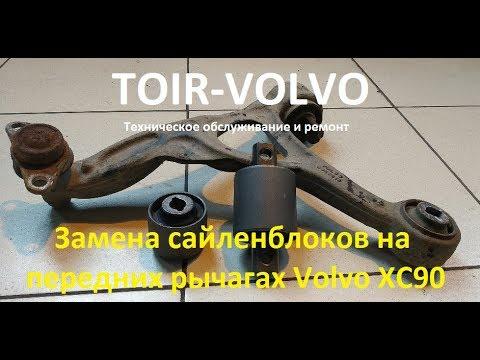 Где сайлентблоки передних рычагов у Вольво S90