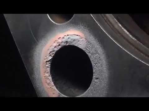 Востановление плоскости блока циллиндров Volvo FM9 (дв.D9A
